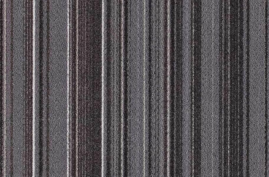 Joy Carpets Parallel Carpet Tile - Carbon