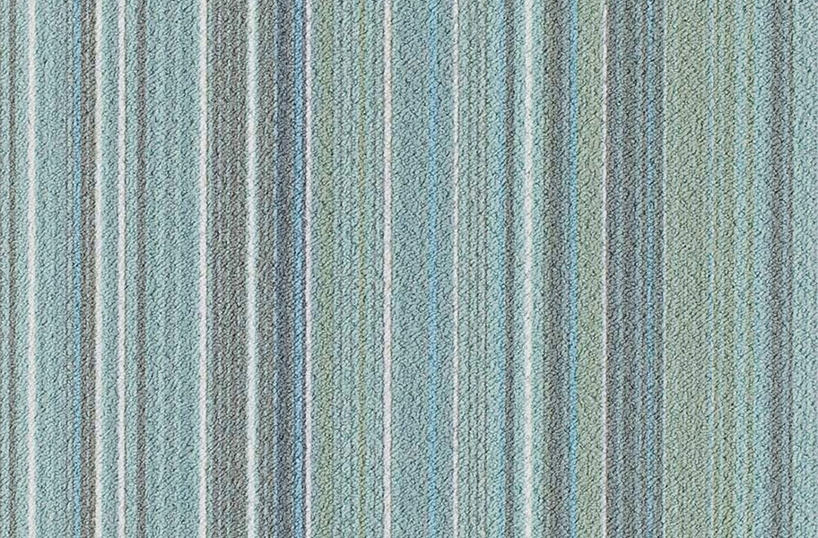 Joy Carpets Parallel Carpet Tile - Cold Fusion