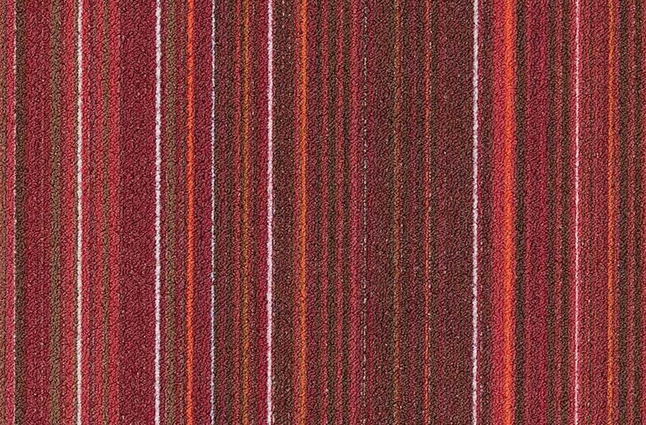 Joy Carpets Parallel Carpet Tile - Frequency