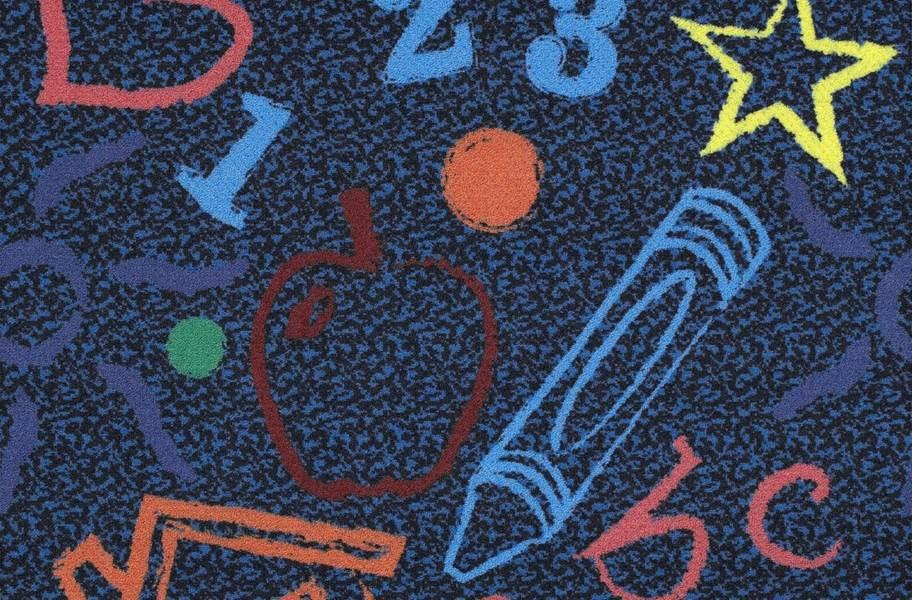 Joy Carpets Kid's Art Carpet Tile - Multi