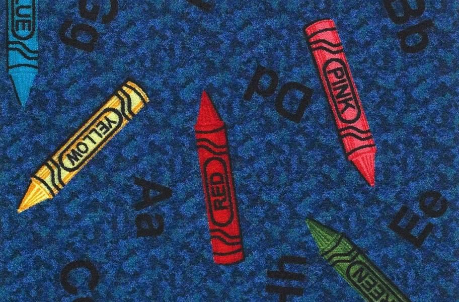 Joy Carpets Crayons Carpet Tile