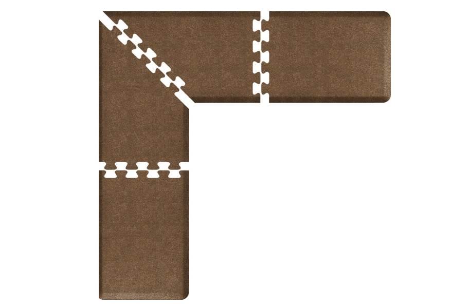 WellnessMats PuzzlePiece - 2' Wide L Series