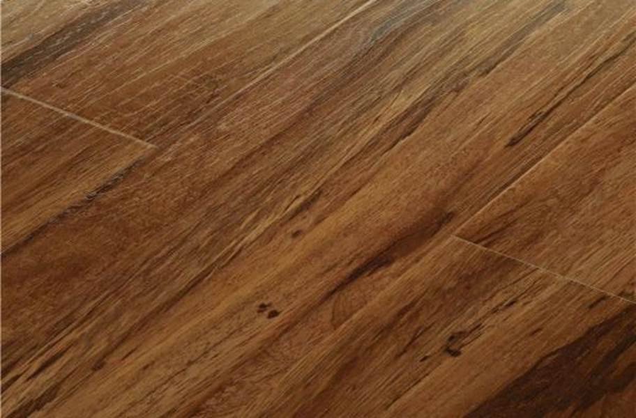12mm Mega Clic Baroque Laminate Flooring - Siberian Tiger Wood