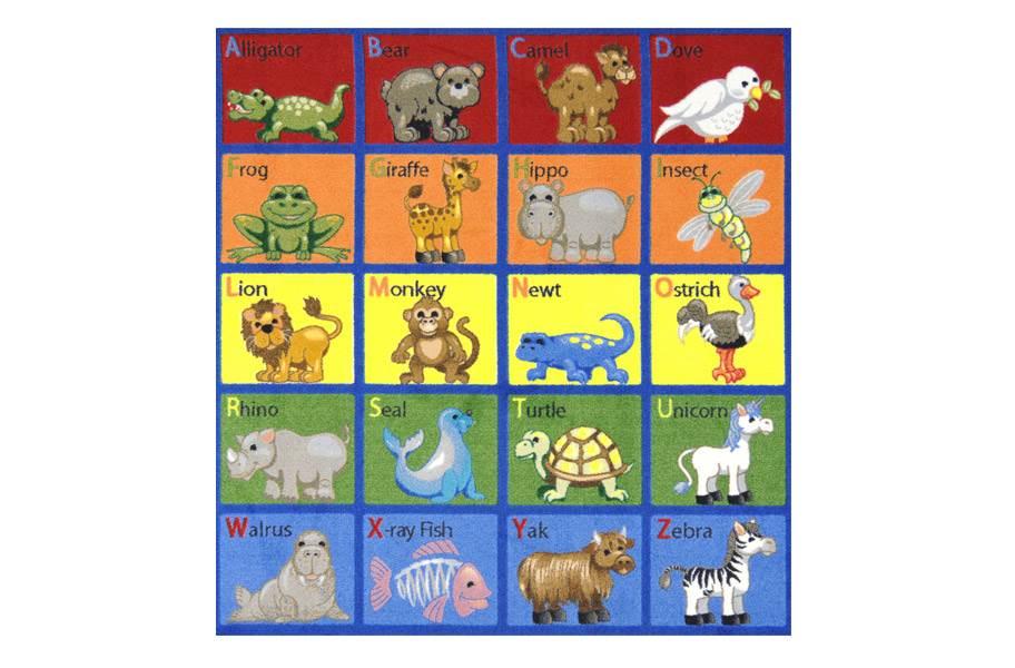Joy Carpets Animal Phonics Kids Rug