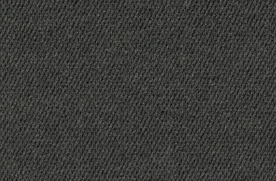 Hobnail Extreme Carpet Tile - Black Ice