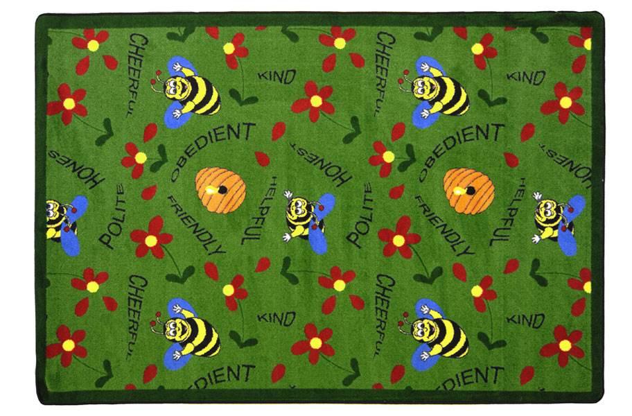 Joy Carpet Bee Attitudes Kids Rug