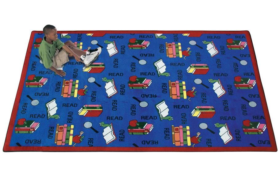 Joy Carpets Bookworm Kids Rug