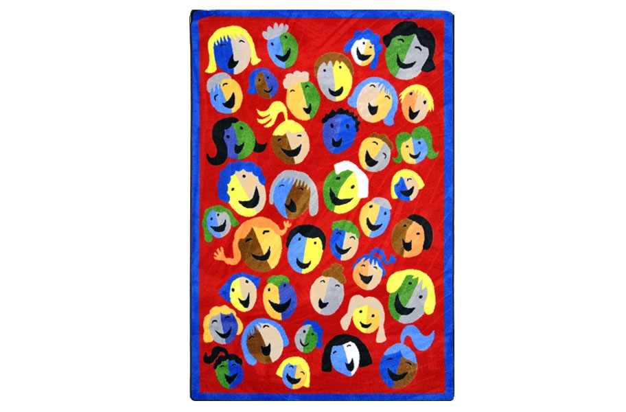 Joy Carpets Joyful Faces Kids Rug