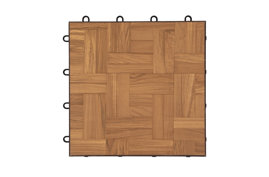 Modular Dance Floor Kits - Teak