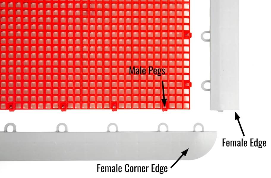 Outdoor Sport Female Corner Edges