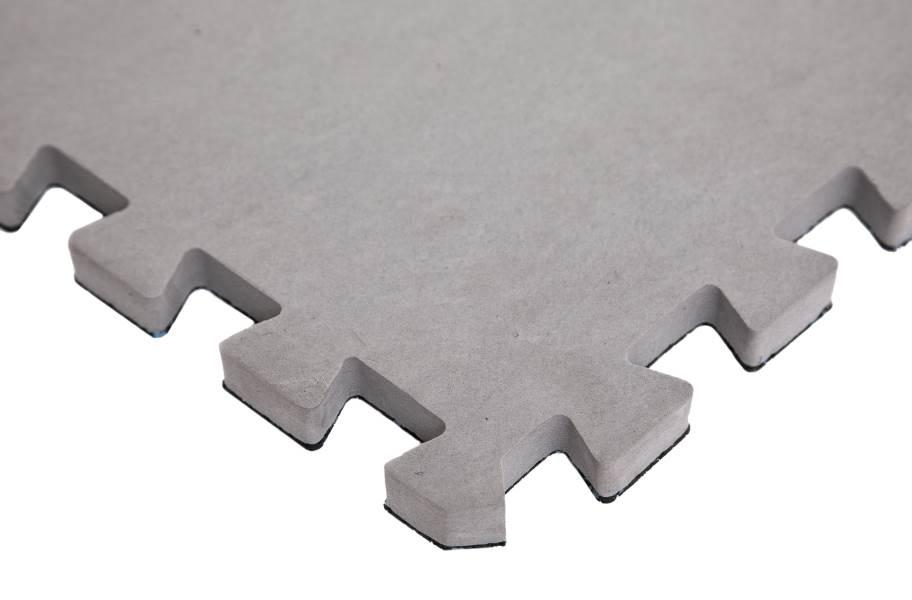 "3/4"" Impact Rubber Tiles - Back"