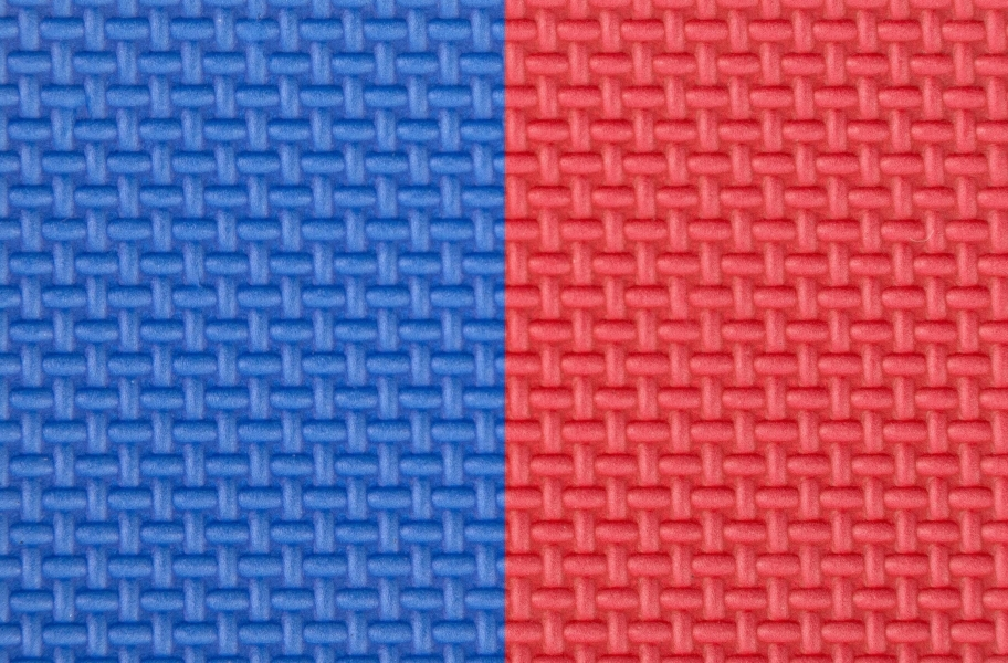 """7/8"""" Judo Mats - Blue/Red"""