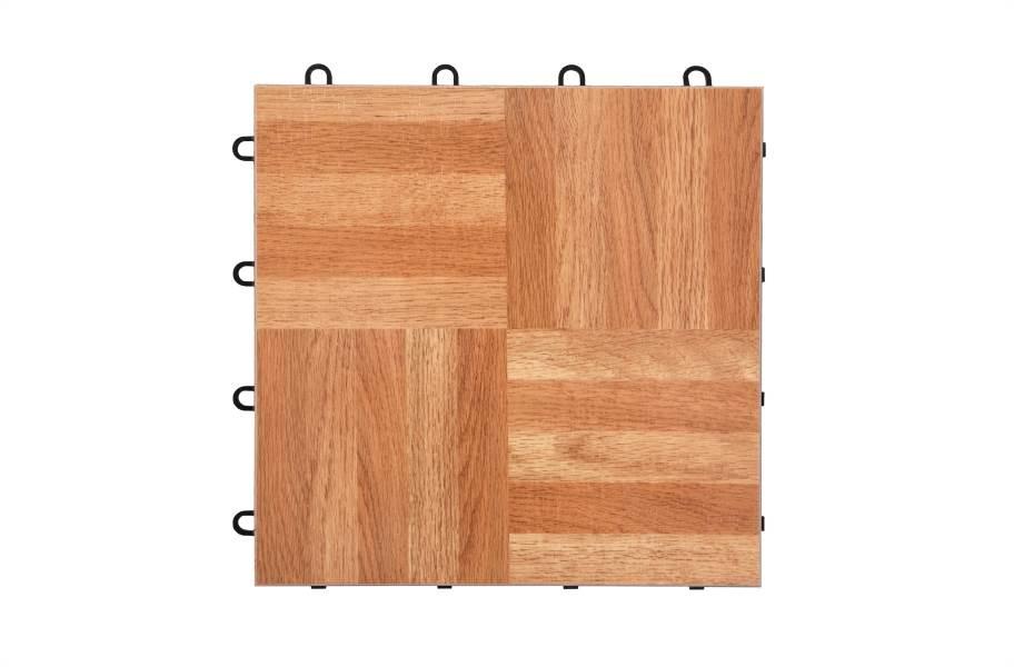 Modular Grid-Loc Tiles™ - Oak