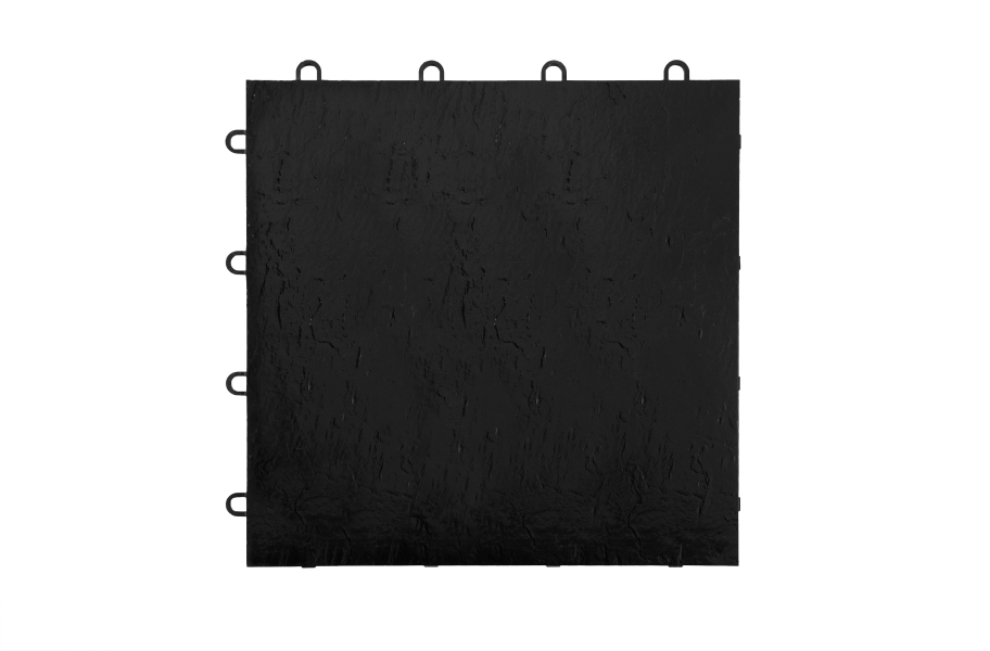 Modular Grid-Loc Tiles™ - Slate Black