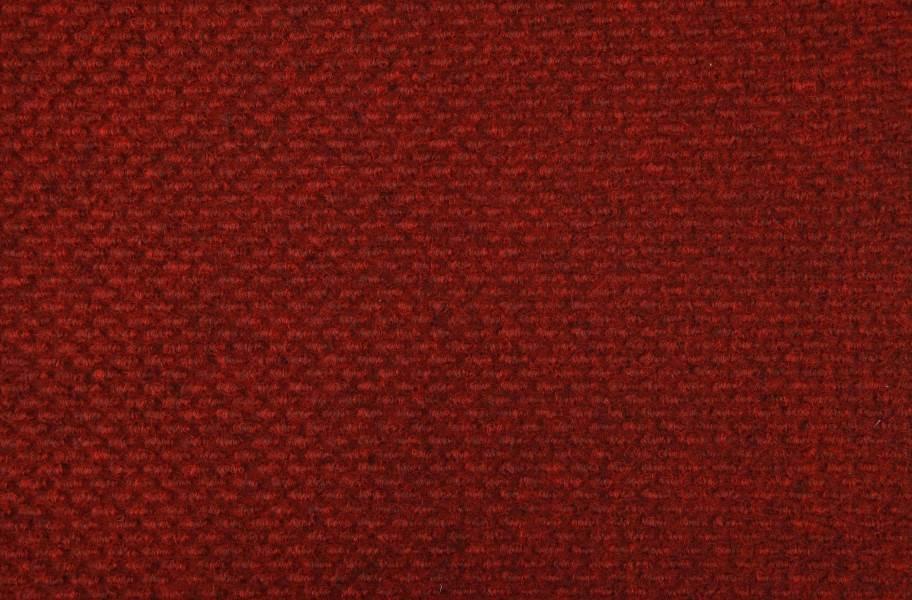 Crete Carpet Tile - Cardinal Red