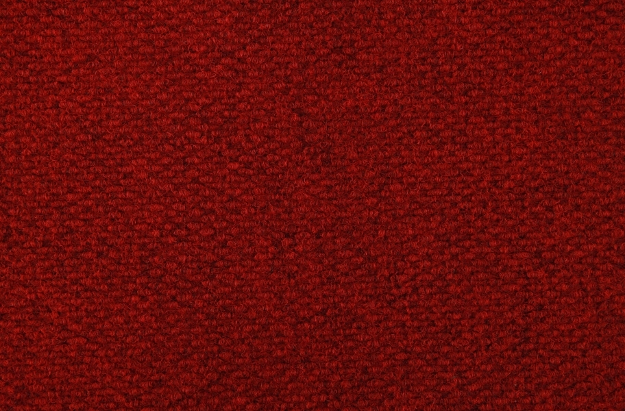 Crete II Carpet Tile - Cardinal Red