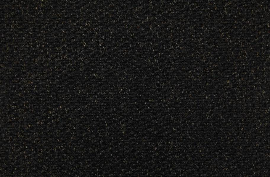 Crete II Carpet Tile - Black Shadow