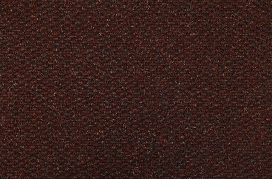 Crete II Carpet Tile - Bordeaux