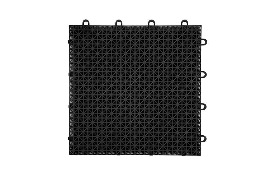 Designer Grip-Loc Tiles - Black