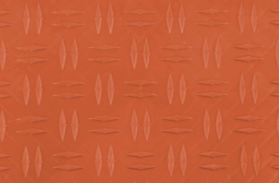 Diamond Grid-Loc Tiles™ - Harley Orange