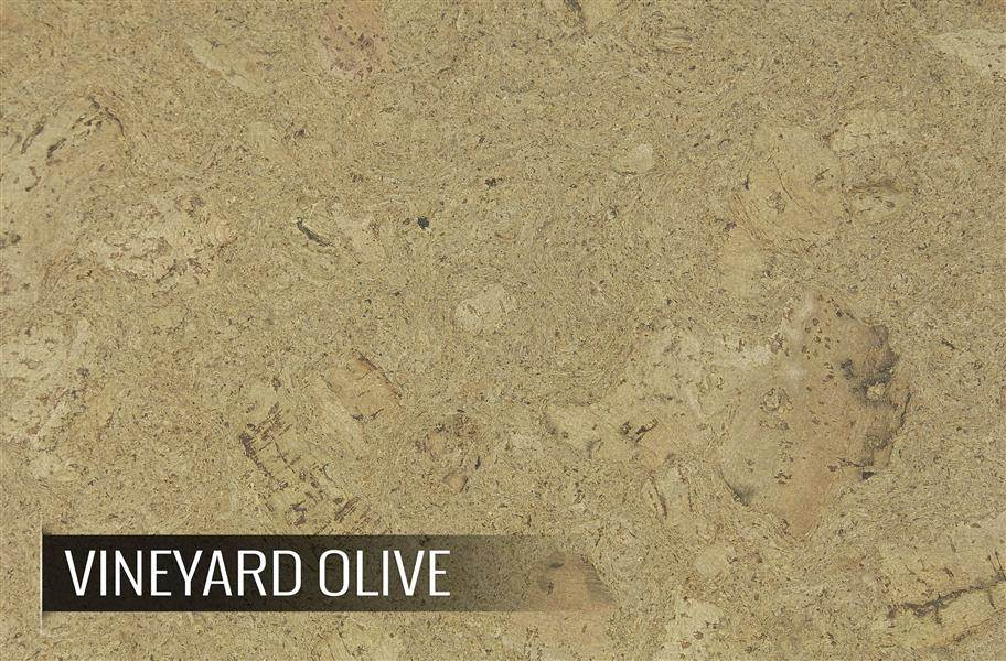 Eco-Cork Vineyard Olive Cork Tiles