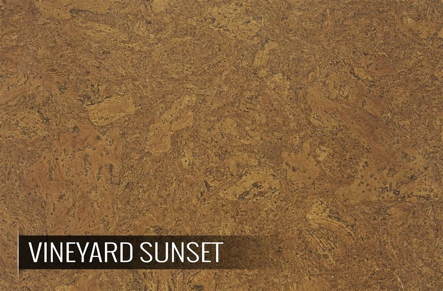 Eco-Cork Vineyard Sunset Cork Tiles