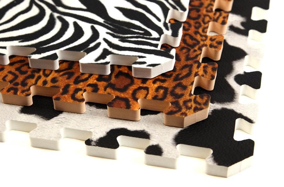 """5/8"""" Funky Animal Print Tiles"""