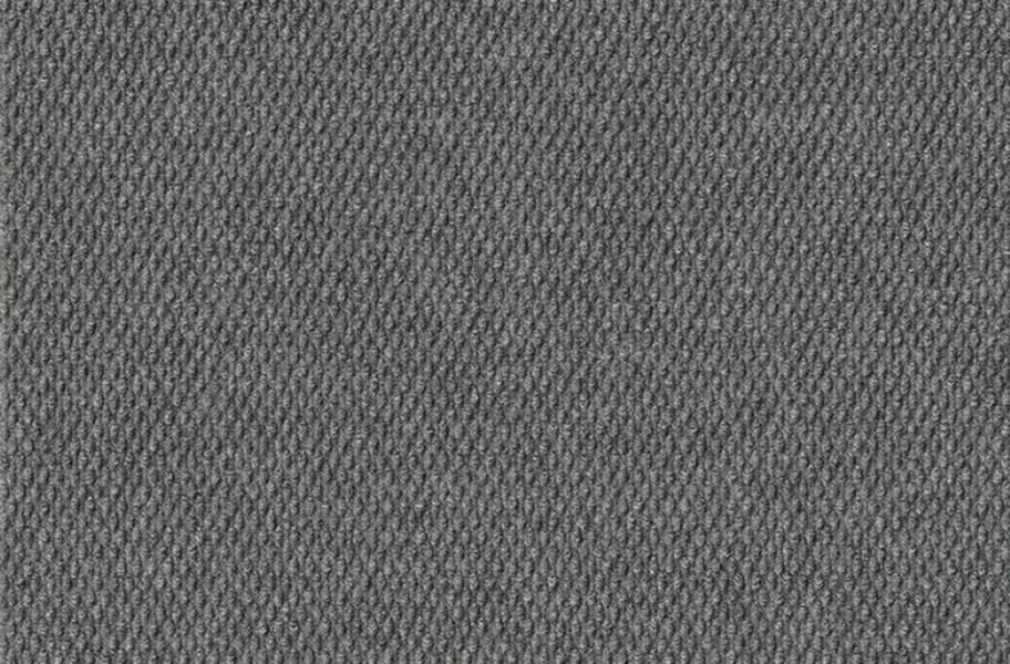 Hobnail Extreme Carpet Tile - Sky Grey