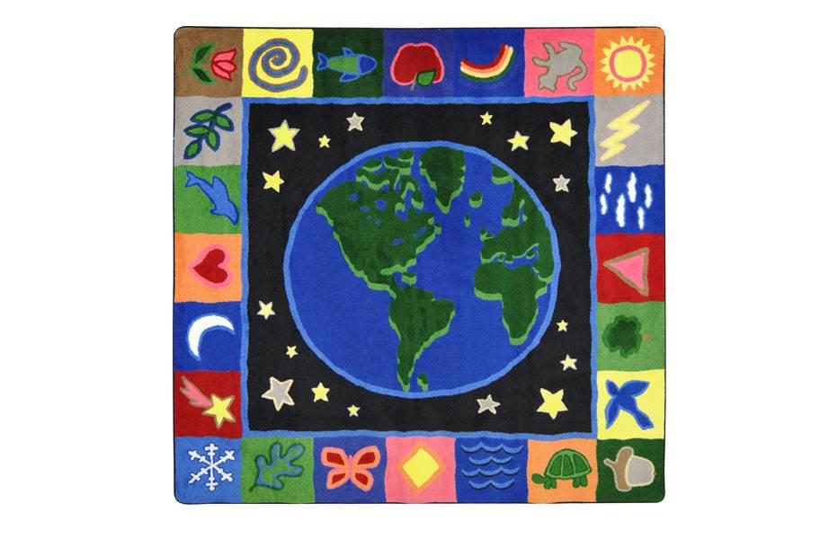 Joy Carpets Earthworks Kids Rug