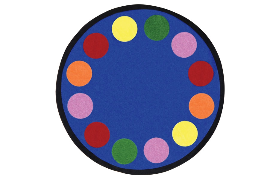 Joy Carpets Lots of Dots Kids Rug