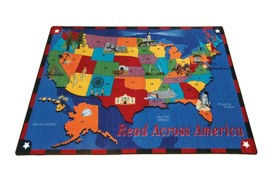 Joy Carpets Read Across America Kids Rug