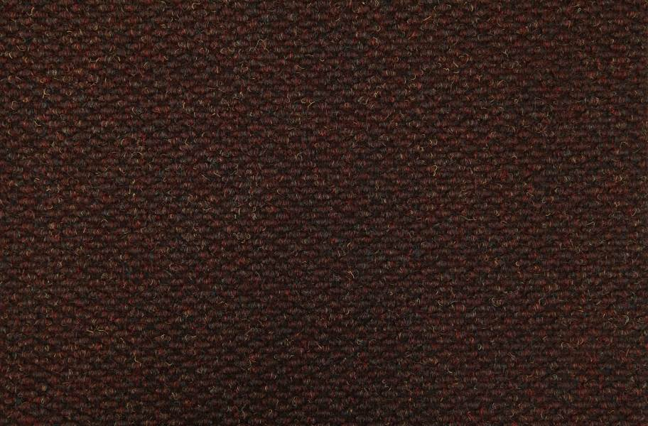 Pompeii Carpet Tile - Bordeaux