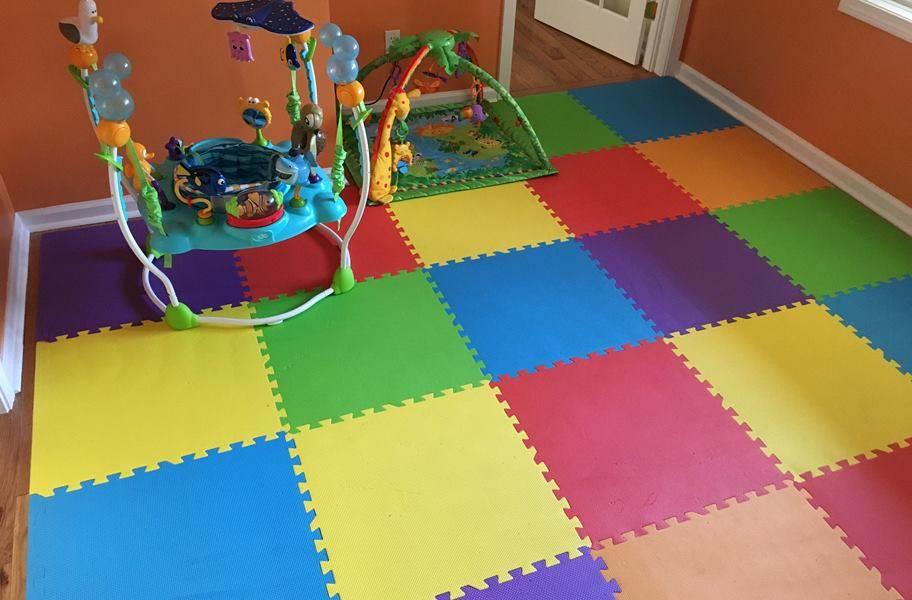 Rainbow Play Mats