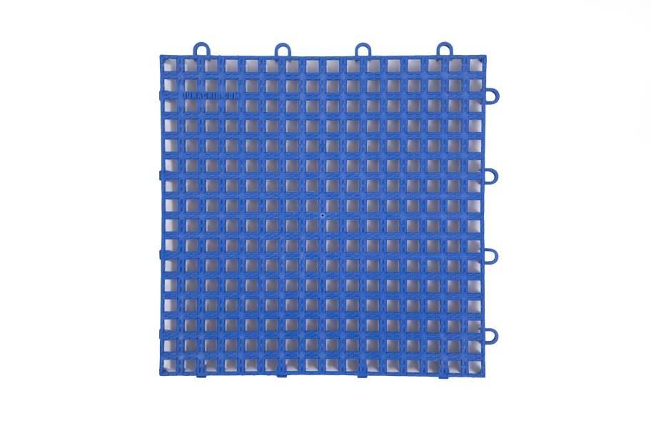 Raised Grip-Loc Tiles - Royal Blue