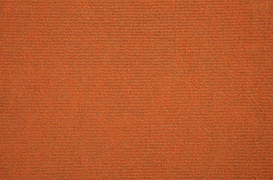 Ribbed Carpet Tile - Quick Ship - Orange