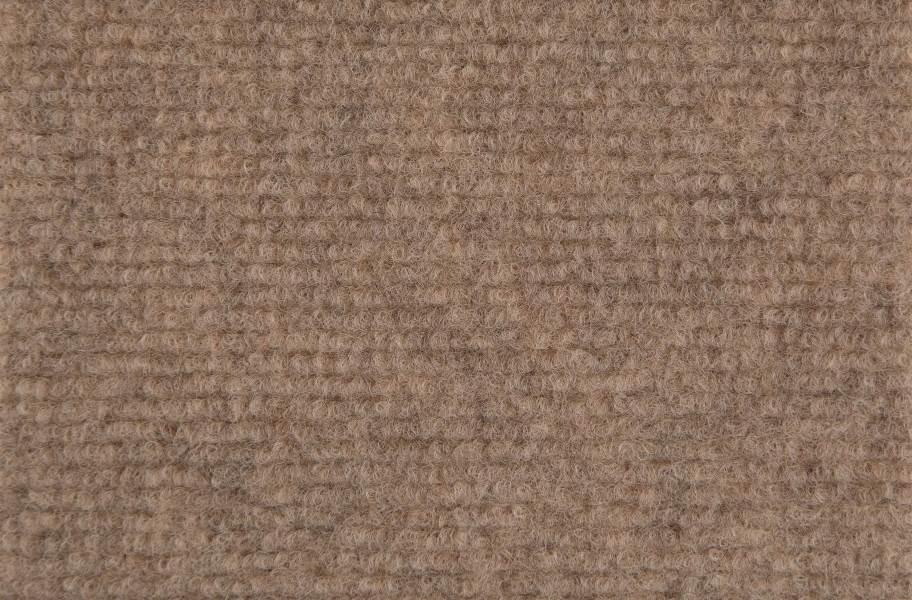 Ribbed Carpet Tile - Quick Ship - Almond
