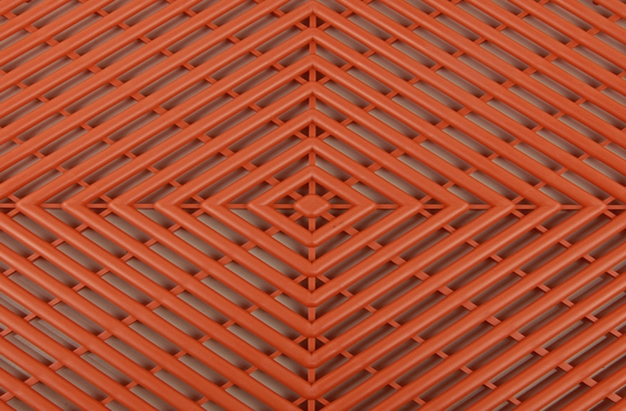 Vented Grid-Loc Tiles™ - Harley Orange