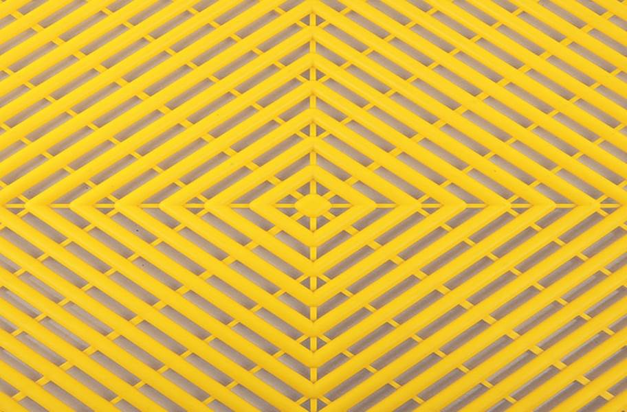 Vented Grid-Loc Tiles™ - Rally Yellow