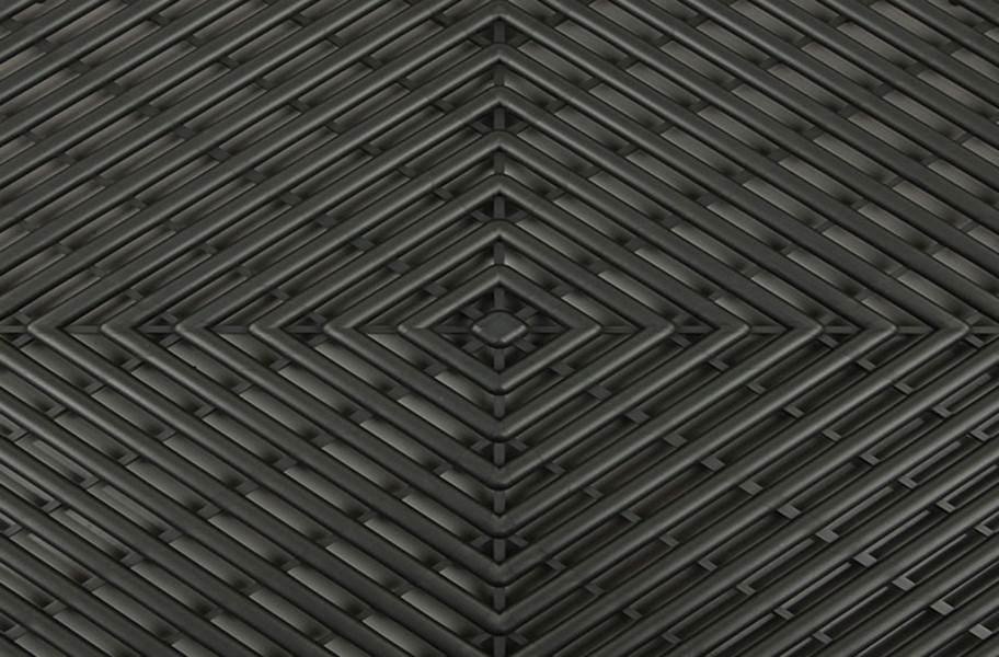 Vented Grid-Loc Tiles™ - Graphite