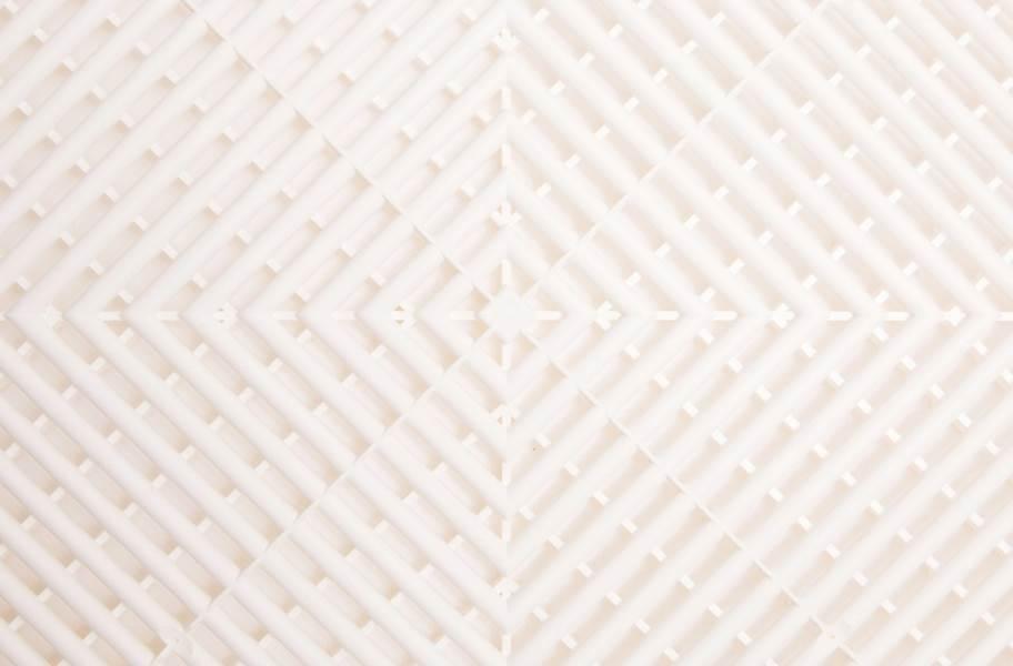 Ribtrax Tiles - Arctic White