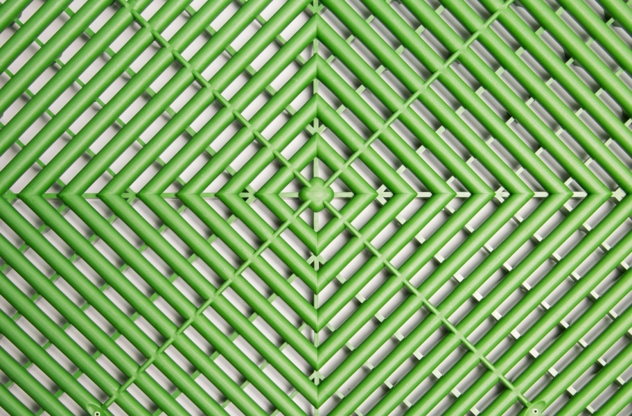 Ribtrax Tiles - Turf Green