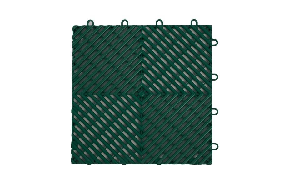 VentedGrip-Loc Tiles - Evergreen
