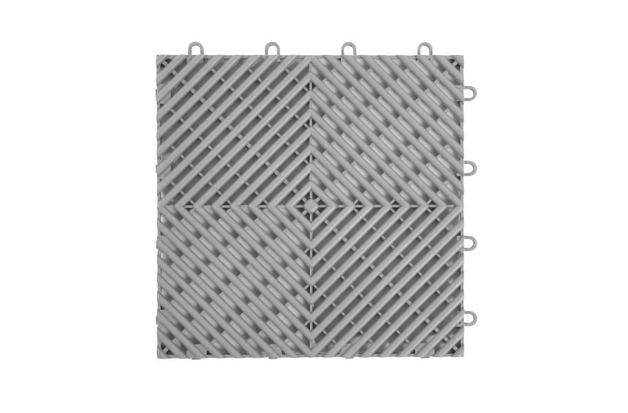 VentedGrip-Loc Tiles - Grey