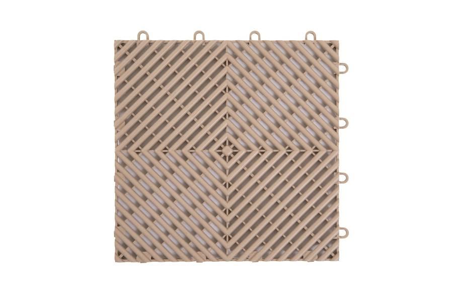 VentedGrip-Loc Tiles - Beige