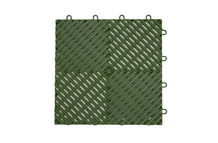 VentedGrip-Loc Tiles - Green