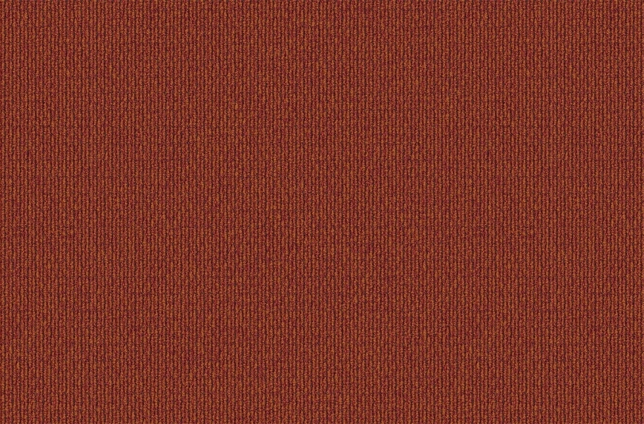 EF Contract The Brights Carpet Tile - Orange Crush