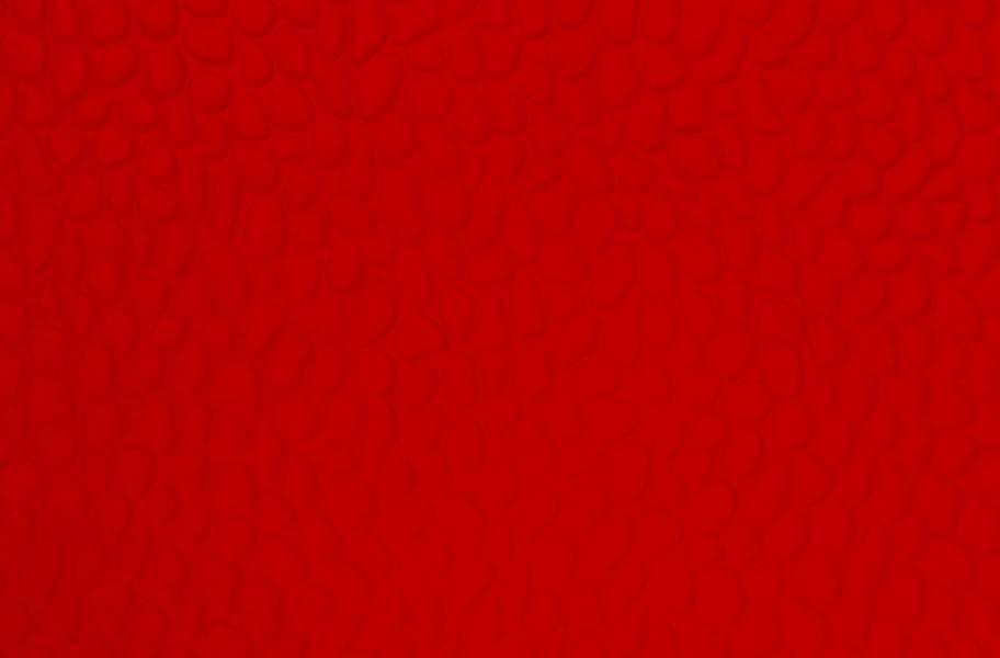 Virgin Pebble Tiles - Brilliant Red