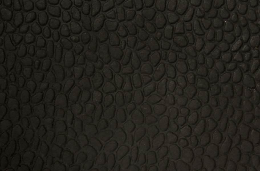 Virgin Pebble Tiles - Standard Black