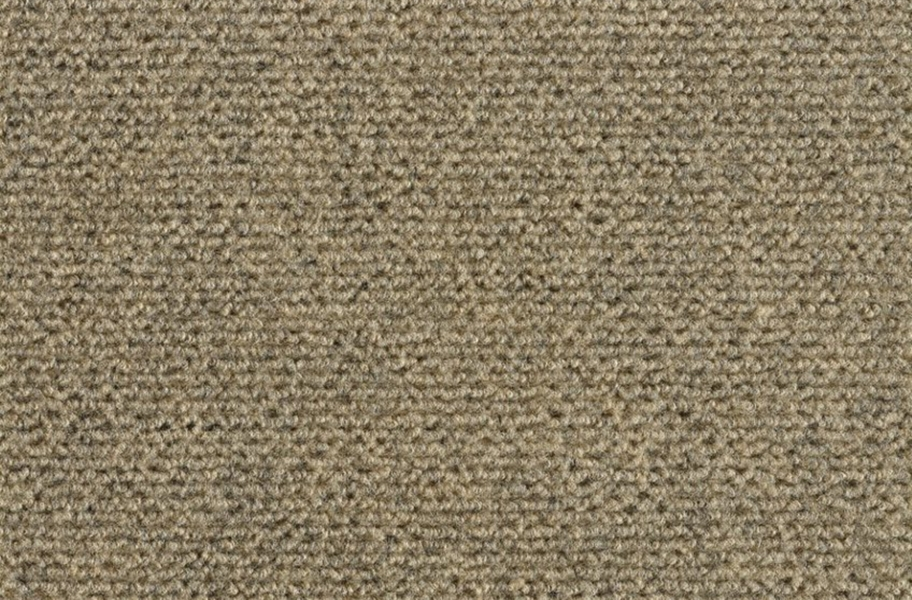 Wide Ribbed Carpet Tile - Chestnut