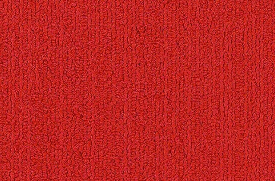 Shaw Color Accents Carpet Tile - Clear Red
